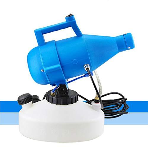 WMQ Atomiseur électrique, atomiseur Portable, collecteur de poussière de Jet d'eau de Javel 4L, 110V-ultra-faible capacité-adapté à l'école hôtelière familiale de Jardin intérieur et extérieur