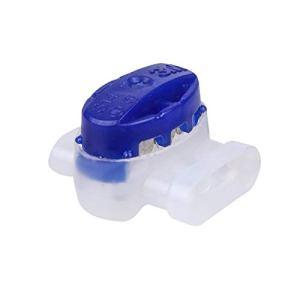 Worx WA0198 Lot de 5 connecteurs pour tondeuse Landroid Bleu