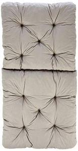Ambientehome Lot de 2 Coussins pour Fauteuil de jardin HANKO Gris Clair 98 x 50 x 8 cm 90067