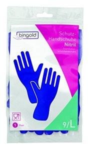 bingold 541003nitrile Gants de, plus de Voie, bleu