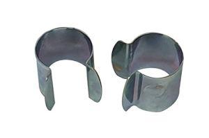 Culture-Serres Lot de 30 Clips de Fixation en métal – D. 25mm