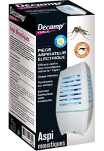 Décamp – Aspirateur à moustiques pour intérieur (sur batterie)