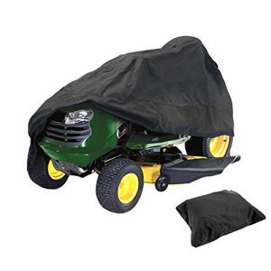 ELR – Housse de protection imperméable pour tondeuse à gazon – Protection UV – Pour tracteur de jardin – Taille XL (180 x 136 x 114 cm)