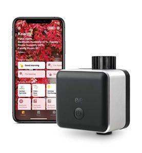 Eve Aqua – contrôleur d'eau Intelligent pour l'app Home ou Siri, arrosez automatiquement grâce à des programmes, Une Solution Simple d'Utilisation et Accessible à Distance,HomeKit