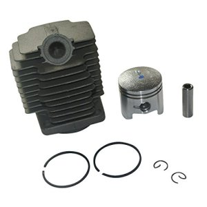 Générique Cylindre Piston Kit de rechange Convient à Robin FL411 NB411 NF411 Débroussailleuse 40mm Remplacer # 541 1500 300