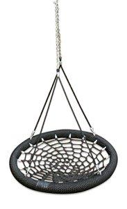 Grand Luxe Nest 'Group-play' arbre balançoire pour enfants, toute la famille jouer et les grands Fun–Awesome Swinging aventure et luxueux balançoires Relaxation pour jardin et Woodland–100cm de diamètre