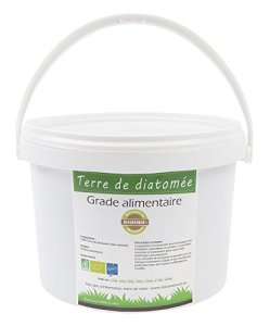 HYDROPLANETE Terre de Diatomée Blanche 200g 1kg 2kg 10kg 20kg – Grade Alimentaire, Haute pureté et Utilisable en Agriculture Biologique – Origine France (1kg)