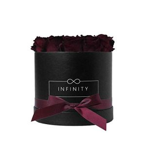 Infinity Flowerbox 3-BB-BG cadeau, Bourgogne