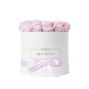 Infinity Flowerbox Large Blanc Rose de mariée cadeau