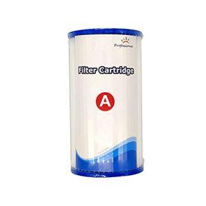 Keepart Pool Cartouche de filtre de rechange réutilisable, installation facile et efficace
