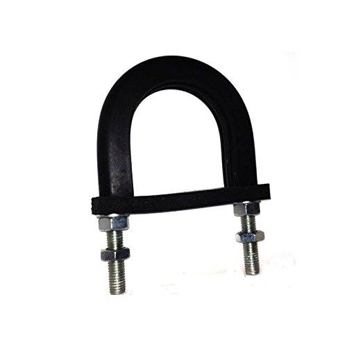 Light Duty anti-vibrations en caoutchouc doublé Bride de fixation pour s'adapter 21mm ID (Tuyau de 15mm NB)–galvanisé Pack Taille: 1