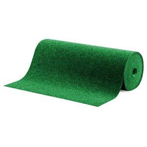 Moquette d'extérieur casa pura® Spring vert au mètre | tapis type gazon artificiel – pour jardin, terrasse, balcon etc. | revêtement de sol outdoor | 100x200cm