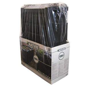 Nature bac à compost 1200 L noir 6071483
