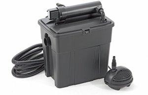 Pontec set filtre étang 8000 avec filtre uv et pompe
