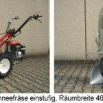 PowerPac BRIK3 Motobineuse 50 cm 6,5 cv