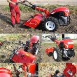 PowerPac mak17–einachser Fraisage Boîte 80cm Motobineuse Motoculteur Fraise à moteur Lombardini Group Diesel 12PS