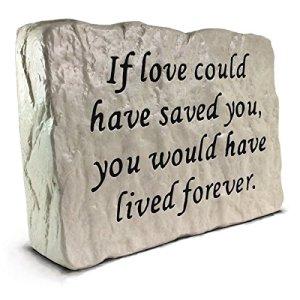 Si l'amour variations enregistrées vous–Pierre commémorative (3,5kilogram)