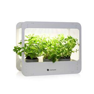 Smartwares – Lampe de croissance pour plantes d'intérieur – 14 W – Timer jour/nuit – Bac inclus