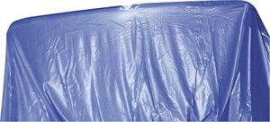Steinbach 011941 Film Ovale pour Piscine Bleu 549 x 366 x 150 cm Épaisseur 0,6 mm Superposition 549 x 366 x 150 cm Bleu