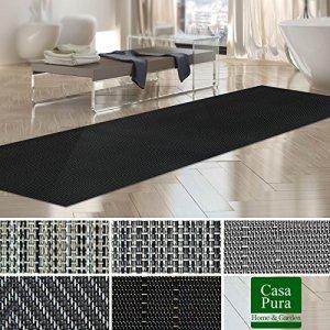 Tapis intérieur extérieur casa pura® résistant, antisalissure, impermeable et antidérapant | nombreux design/tailles | Catania – 60x100cm