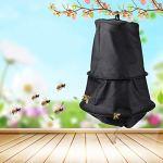 Wacent Piège à essaim, Outils auxiliaires durables Accessoires Outil d'apiculteur Noir Cage d'abeille Piège à essaim Attrapeur d'essaim