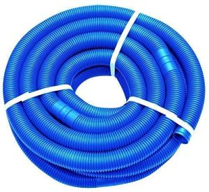 well2wellness Tuyau Bleu de Piscine 38mm – Tuyau de Bassin 9 mètres