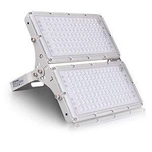 200W Projecteur LED 16000lm Eclairage de Sécurité Imperméable IP65 6500K Blanc froid, Spot LED Extérieur pour éclairage public, Garage, Couloir, Jardin[Classe énergétique A+]