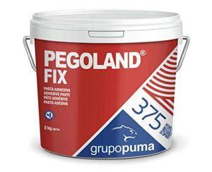 375 Pegoland Fix Blanc D1 : colle en pâte idéale pour réparations de piscines, revêtements céramiques. Pot de 2 kg.