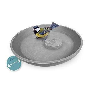 Abreuvoir Mangeoire Ø 28cm – Bain pour Oiseaux Sauvages – Bassin pour Attire Plus d'oiseaux