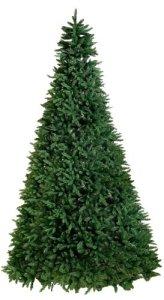 Best Season Calgary, 620LED Blanc Chaud, 5930Tips Pisello Sapin de Noël avec Pied en métal pour Les extérieur, Env. 360x 200cm, Vert, 608–33