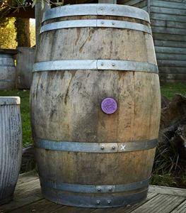 Bois Rond Trading Bar001Authentique Français Tonneau de vin de chêne–Marron