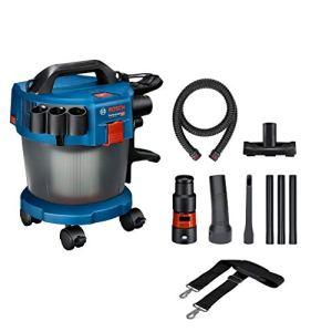 Bosch Professional 06019C6302 Bosch Professionnal 18V System Aspirateur Industriel GAS 18V-10 L (sans Batterie, Flexible de 1,6 m, 3 Tubes Prolongateurs, Boite Carton)