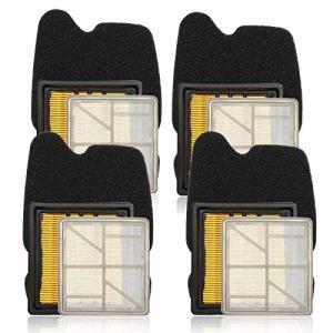 Carkio Lot de 4 filtres à air pré-internes compatibles avec Husq-varna Partner scie à béton K750 K 750 506 36 72-01, 506 36 72-02,506 36 71-01,5063671-03