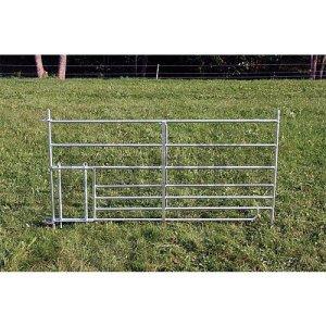 Claie Steckfix avec passage pour agneau,largeur: 1,80m – 371500