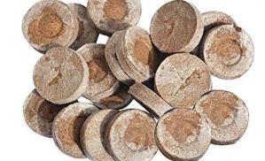 Cutogain Bloc de semis, Compression de Bloc de nutriments, Bloc de Tourbe comprimée, Bouchons de départ pour semences 100pcs Bouchons de démarrage pour boues de Sol pour semis
