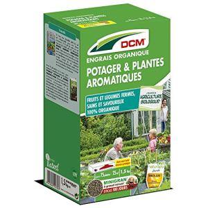 DCM – Engrais Potager et Plantes aromatiques – jusqu'à 75 Plantes