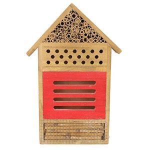 Dekaim Maison d'insectes, en Bois Insecte Maison d'abeille Bois Bug Room hôtel abri Jardin décoration nids boîte