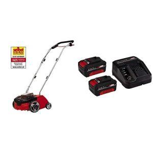 Einhell Scarificateur sans Fil GC-SC 36/31 Li-Solo Power X-Change (Lithium-ion, Outil Combiné 3-en-1, Rouleau de Scarification sur Roulement à Billes) – Version Kit Libre avec Batterie et Chargeur