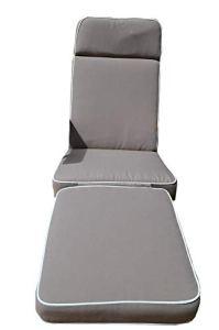 Field & Hawken Coussin de Luxe de Steamer/Chaise Longue -Meubles Pas Inclus- Couleur Taupe