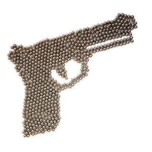 GM&BW 4000 Balles 4,5mm en Acier au Carbone, Roulement à Billes 177 Cal, revêtement nickelé résistant à la Rouille, Sac refermable