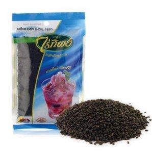 Graines de basilic (500 g). Par Raitip. Graines pour perte de poids, produit de contrôle du poids de Thaïlande, Limited Edition