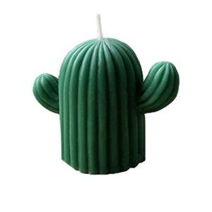 Healifty Cactus Bougie Moules Cactus Moule en Silicone pour Fondant Décoration de Gâteaux Au Chocolat – Taille L (Couleur Aléatoire)