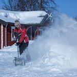 IKRA IAF 40-3325 fraise à neige sur batterie sans batterie et sans charger