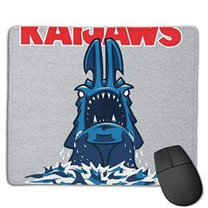 Kaijaws Pacific Rim Kaiju Jaws Dessins personnalisés Tapis de Souris de Jeu à Base en Caoutchouc antidérapant pour Mac