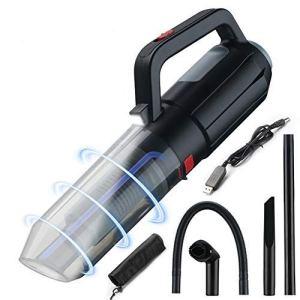KAMLIKE Nettoyants Voiture Aspirateur à Main sans Fil aspirateur avec LED pour Bureau Voiture Nettoyage