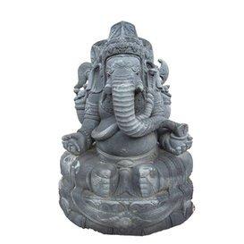 Kiranmala Figurine en pierre pour jardin en pierre