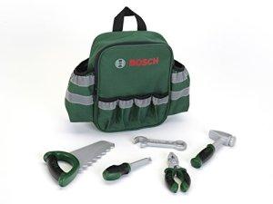 Klein – 8326 – Jeu d'imitation – Sac à dos Bosch pour enfants avec outils