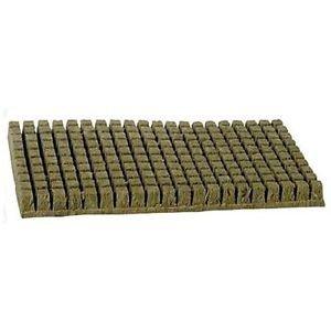 Laine Rockwool Cubes (2,5cm) 200Cubes par planche, étui de 30 piece 200