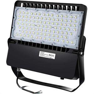 LEDMO 240W LED Projecteur exterieur, éclairage de stade LED brillant, 31200Lm 1500W équivalent 5000K blanc lumière du jour