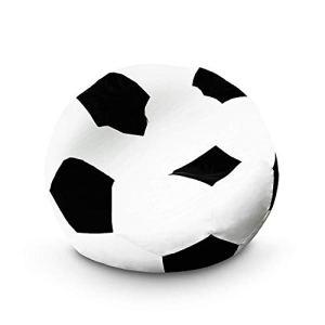 Lumaland Pouf de en Fauteuil de Football de la Ligne Grand Confort